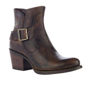 Durango® City Women's Chocolate Philly Shorty Boot